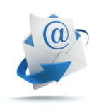 email themed graphic